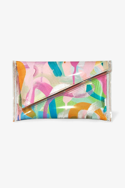 Tiff Manuell-Tiff Manuell Angled Clutch - Loving You-Mott and Mulberry