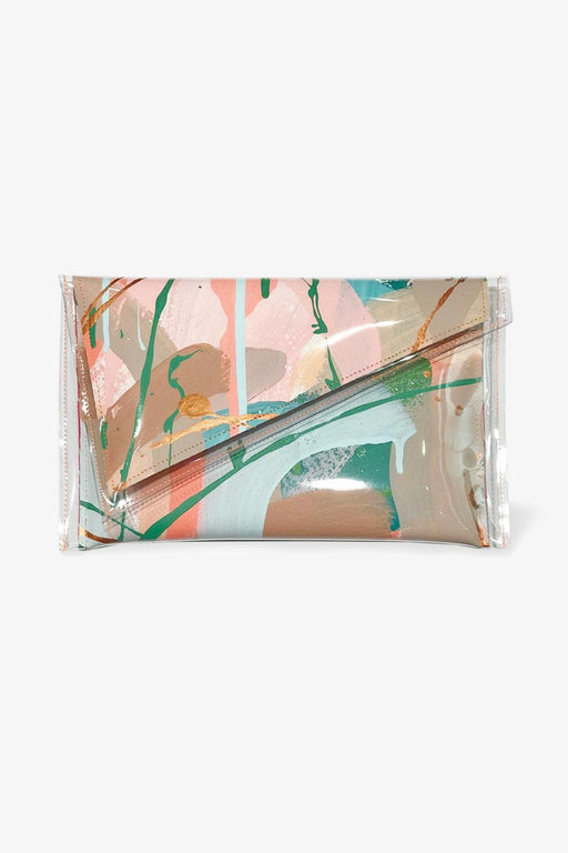 Tiff Manuell-Tiff Manuell Angled Clutch - Sapling-Mott and Mulberry