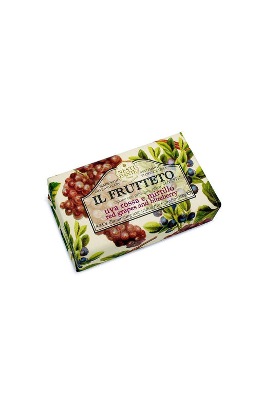 Nesti Dante-Il Frutteto Red Grapes and Blueberry Soap-Mott and Mulberry