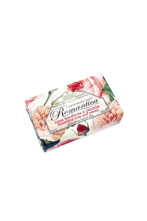 Nesti Dante-Romantica Rose and peony Soap-Mott and Mulberry