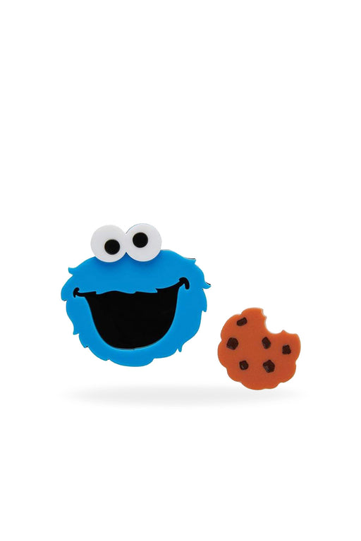 Erstwilder-Cookie Monster Brooch-Mott and Mulberry