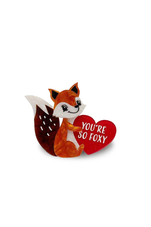 Erstwilder-You're So Foxy Brooch-Mott and Mulberry