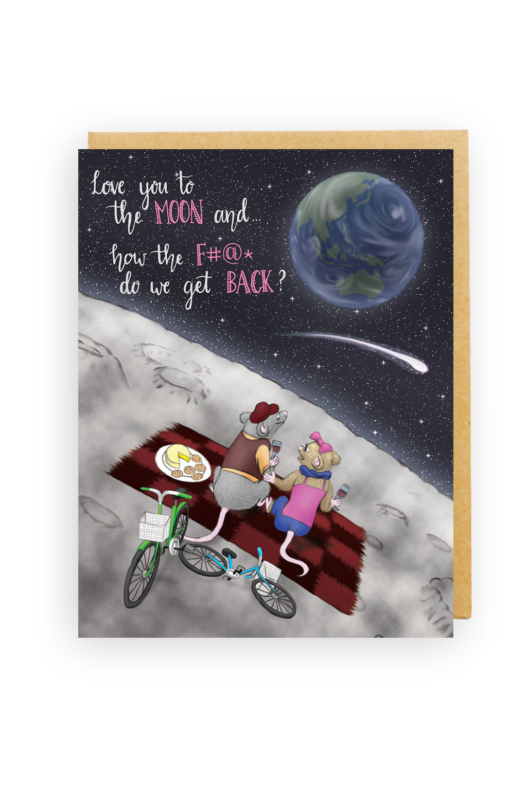 Squirrel Design Studio-To The Moon And Back - Love Card-Mott and Mulberry