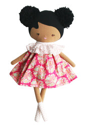 Alimrose-Baby Ellie Doll 36cm Hot Pink-mott-and-mulberry-shop-online-brisbane
