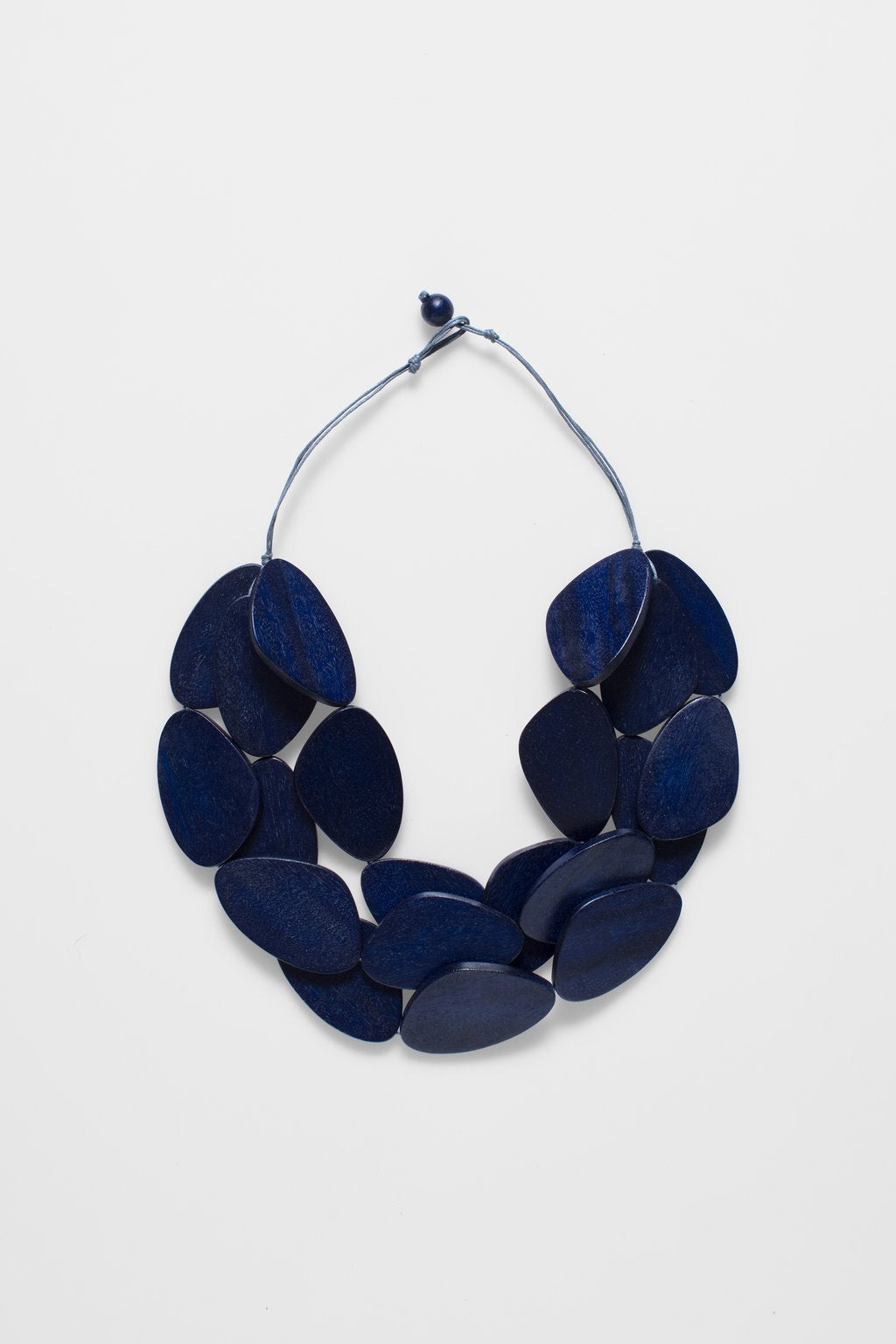 ELK-Kamile Necklace Navy-Mott and Mulberry