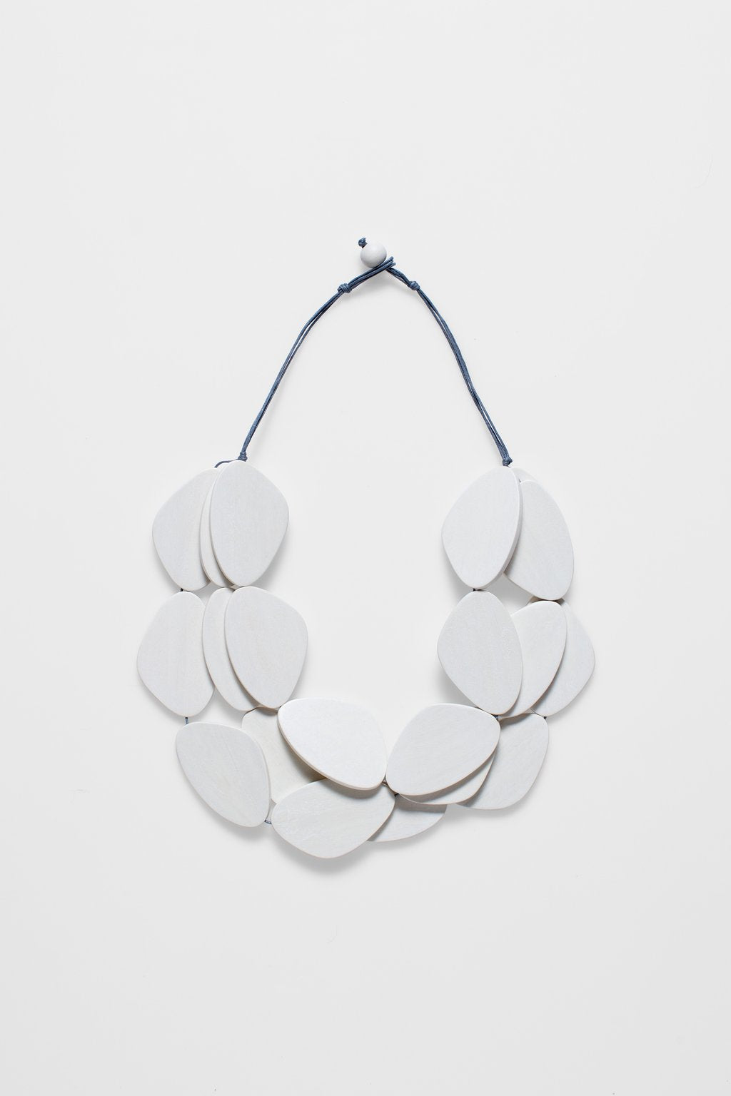 ELK-Kamile Necklace White-Mott and Mulberry