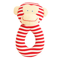 Alimrose-Monkey Grab Rattle 16cm Red-mott-and-mulberry-shop-online-brisbane