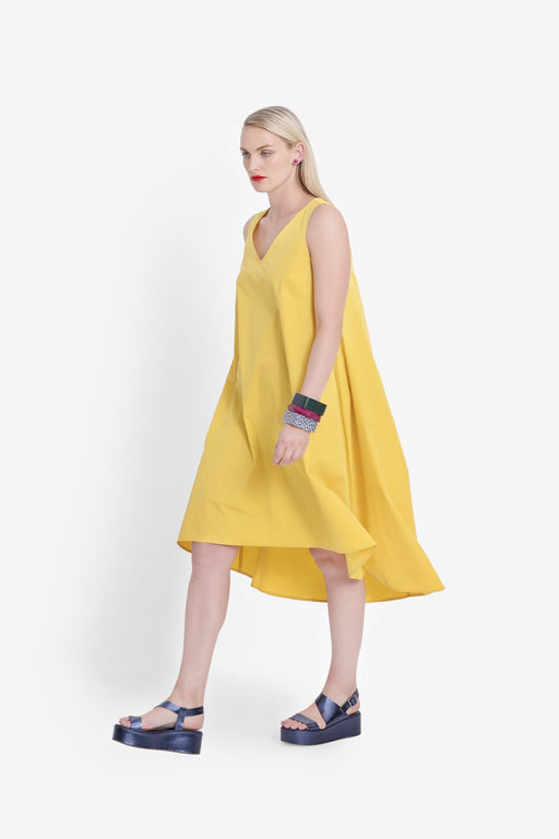ELK-Nyland Dress Yellow-mott-and-mulberry-shop-online-brisbane