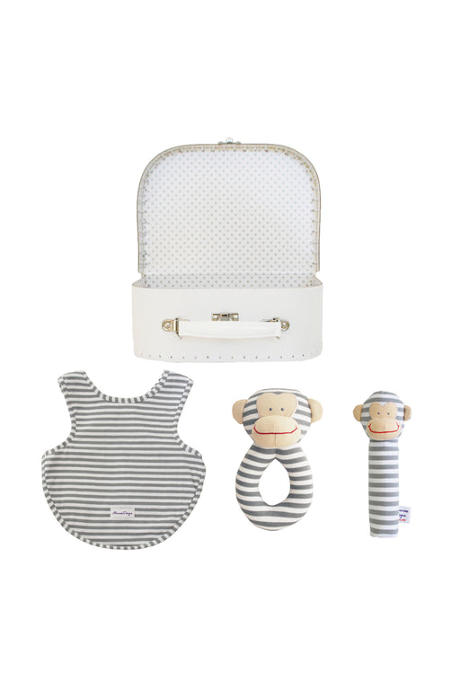 Alimrose-Welcome to the World Gift Set - Bunnies Grey-mott-and-mulberry-shop-online-brisbane