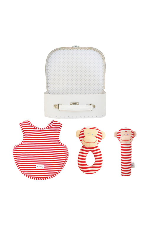 Alimrose-Welcome to the World Gift Set - Cheeky Monkey Red-mott-and-mulberry-shop-online-brisbane