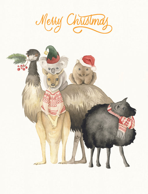 Squirrel Design Studio-Family Photo - Christmas Card-Mott and Mulberry