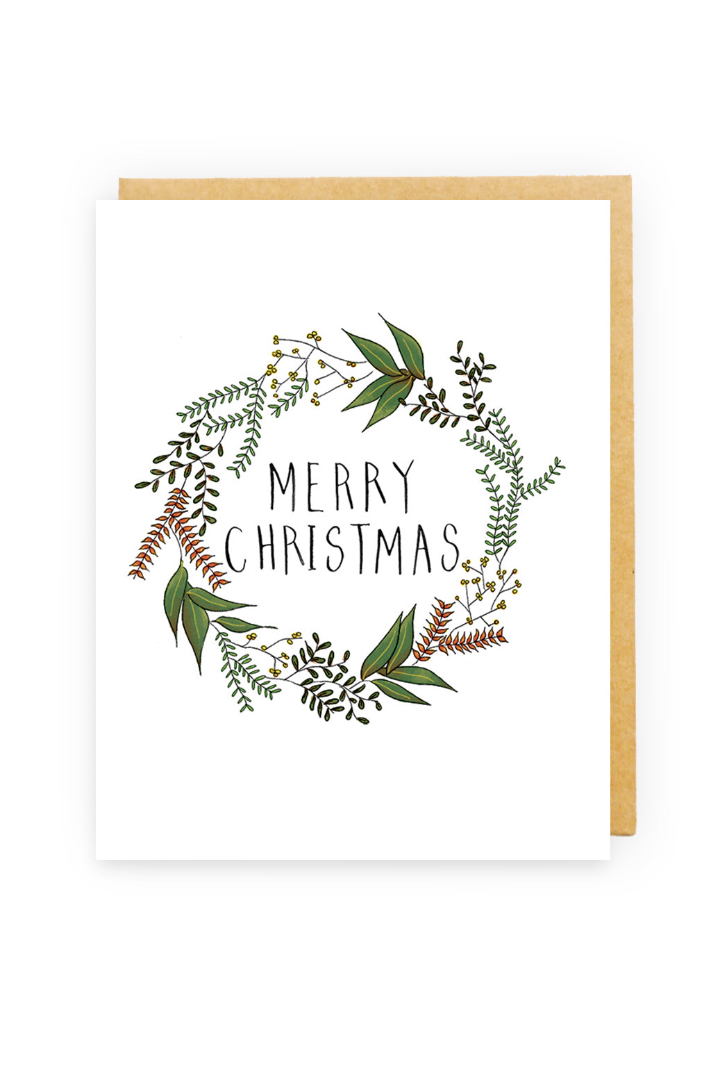 Squirrel Design Studio-Rosemary Wreath  Christmas Card-Mott and Mulberry