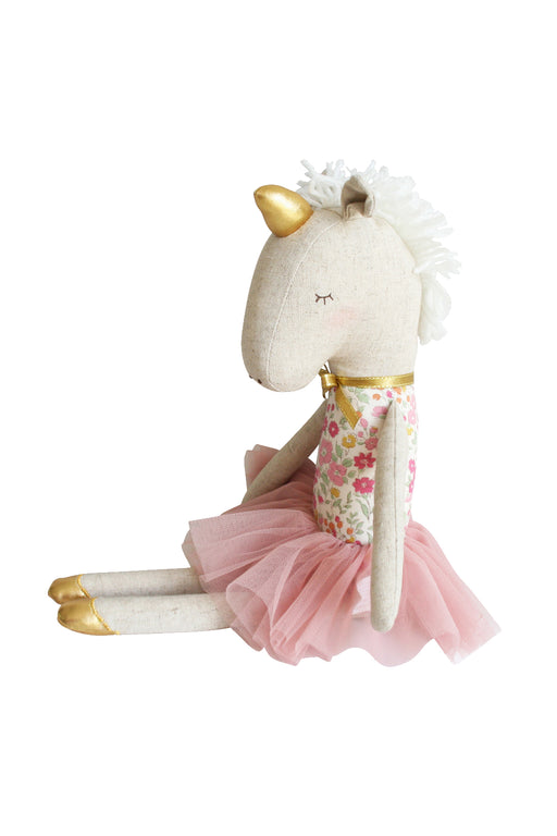 Alimrose-Yvette Unicorn Doll 43 cm Rose Garden-mott-and-mulberry-shop-online-brisbane