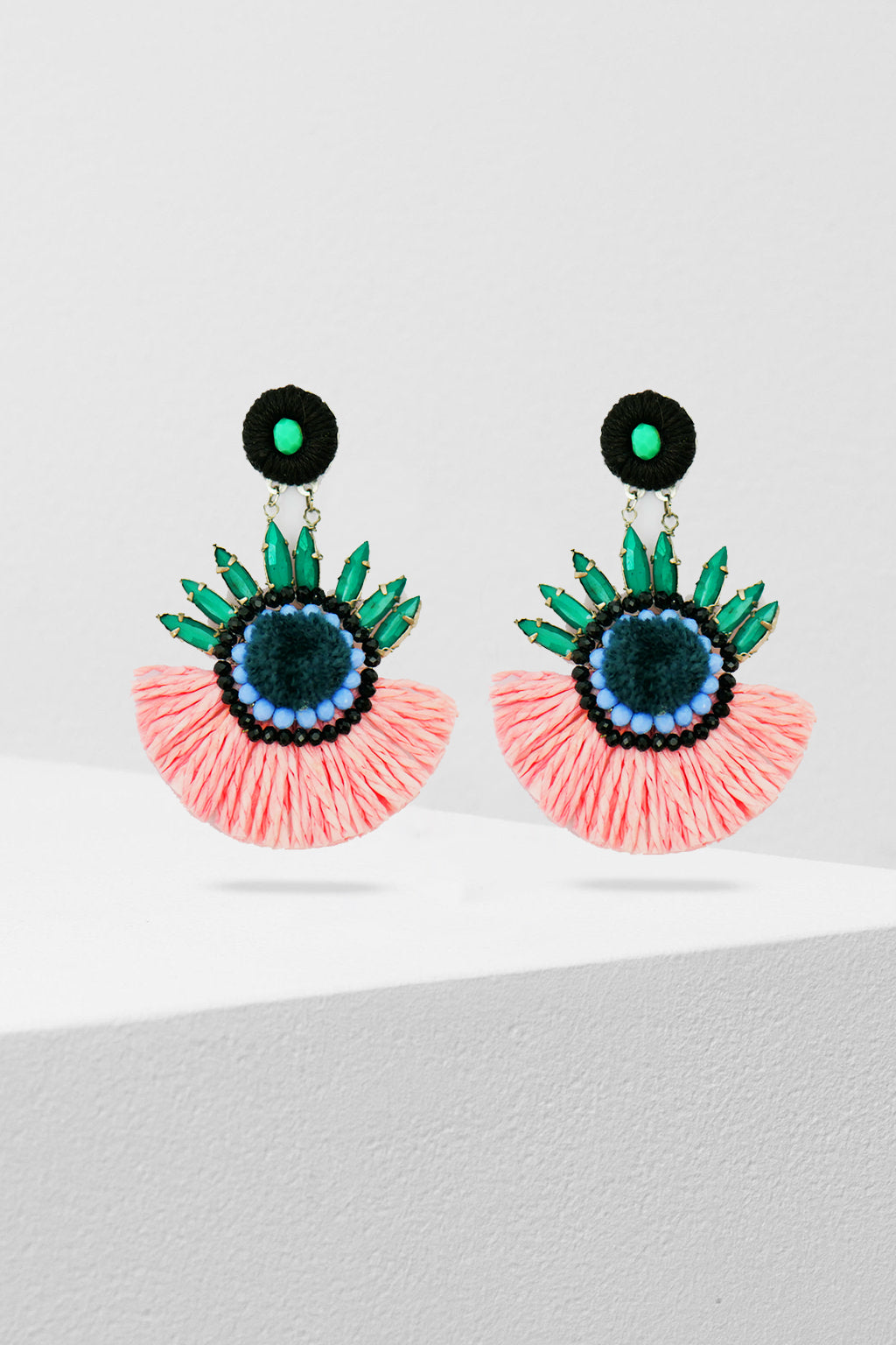 ZODA-Tropico Statement earrings-Mott and Mulberry