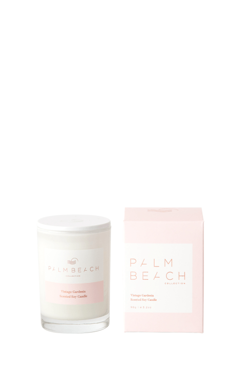 Palm Beach-Palm Beach Fragrance Vintage Gardenia Mini Candle-Mott and Mulberry