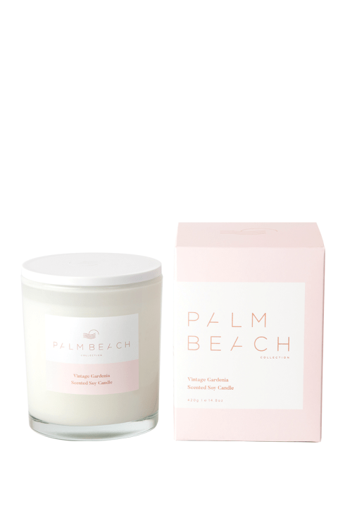Palm Beach-Palm Beach Fragrance Vintage Gardenia Standard Candle-Mott and Mulberry