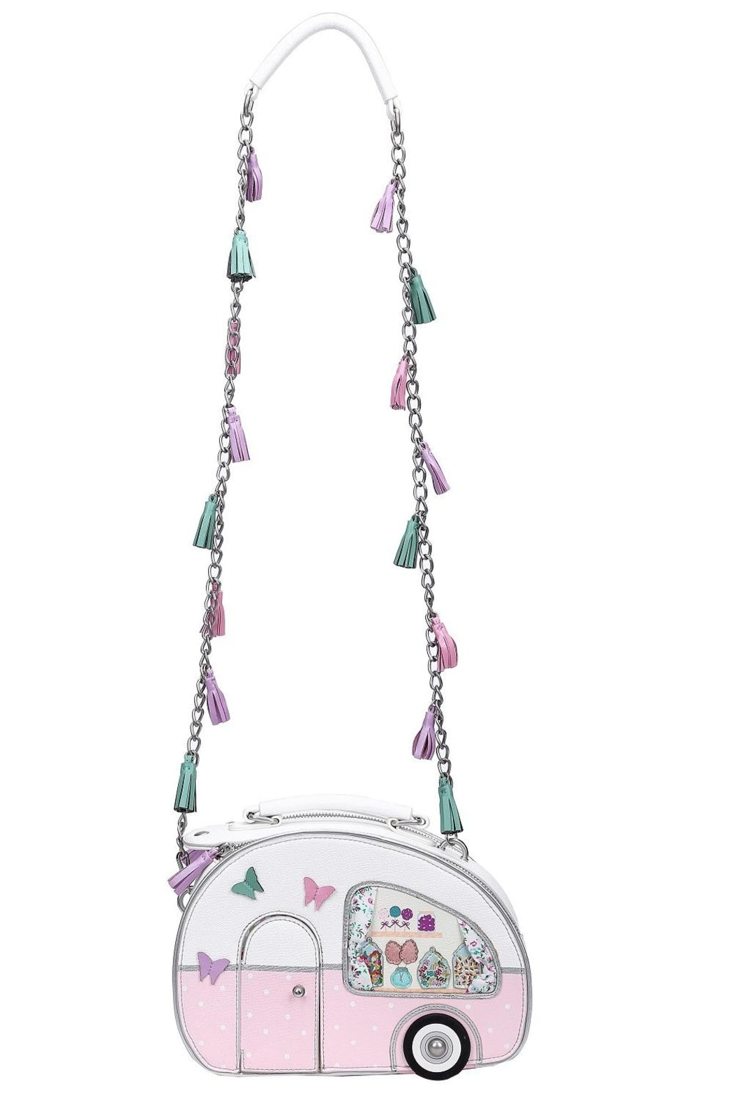 Vendula-Sweetie Caravan Box Bag-Mott and Mulberry