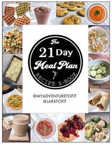 Volume II Recipe Book - 21 Day Meal Plan