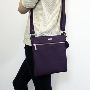 Messenger Crossbody (Violet)