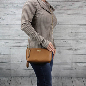 Becca Crossbody/Clutch Small (Caffe Brown)