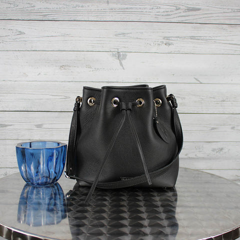 Casey Bucket Bag (Black)