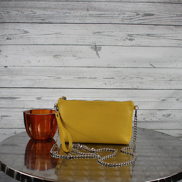 Becca Crossbody/Clutch Small (Mirabella Yellow)