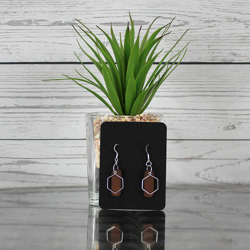 Earrings - Octagon