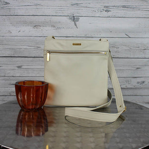 Lee Messenger Crossbody (Bone)