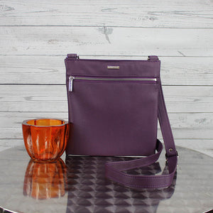 Lee Messenger Crossbody (Violet)