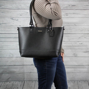 Madison Tote - Medium (Black)
