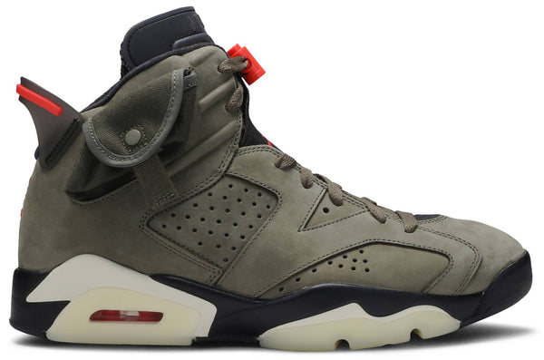 "Travis Scott x Air Jordan 6 ""Olive"""