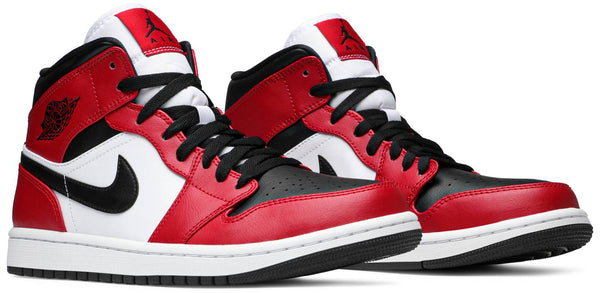 "Air Jordan 1 Mid ""Chicago Black Toe"" GS"