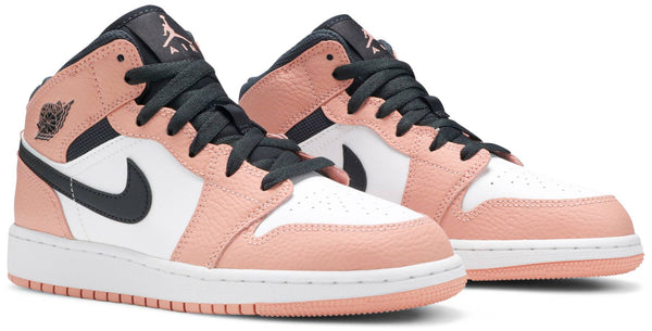 "AIR JORDAN 1 MID ""PINK QUARTZ"" GS"