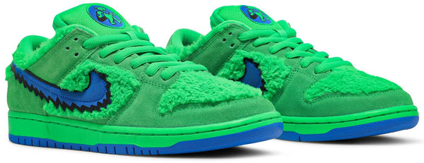 "GratefulDead x Nike Dunk Low SB ""Green Bear"""