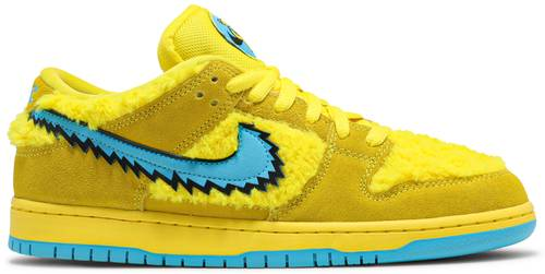 "GratefulDead x Nike Dunk Low SB ""Yellow Bear"""