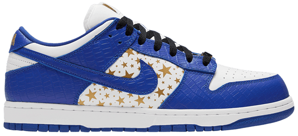 "Nike SB Dunk Low OG QS X Supreme ""Hyper Royal"""