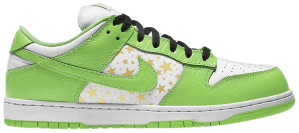 "Nike SB Dunk Low OG QS X Supreme ""Mean Green"""