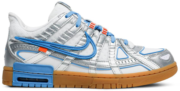 "Off-White x Nike Air Rubber Dunk ""University Blue"""
