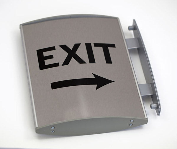 Medical Hallway Exit Sign