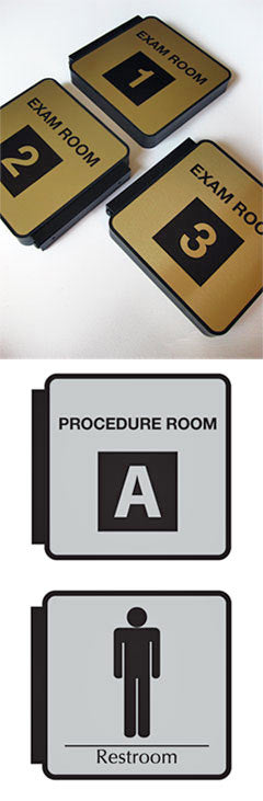 Medical Office Signs and Exam Room Signage