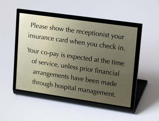 Medical office signs and appointment signs