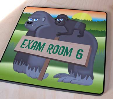 Animal Pediatric Office Signs