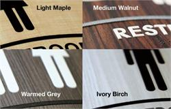 Wood Color Options