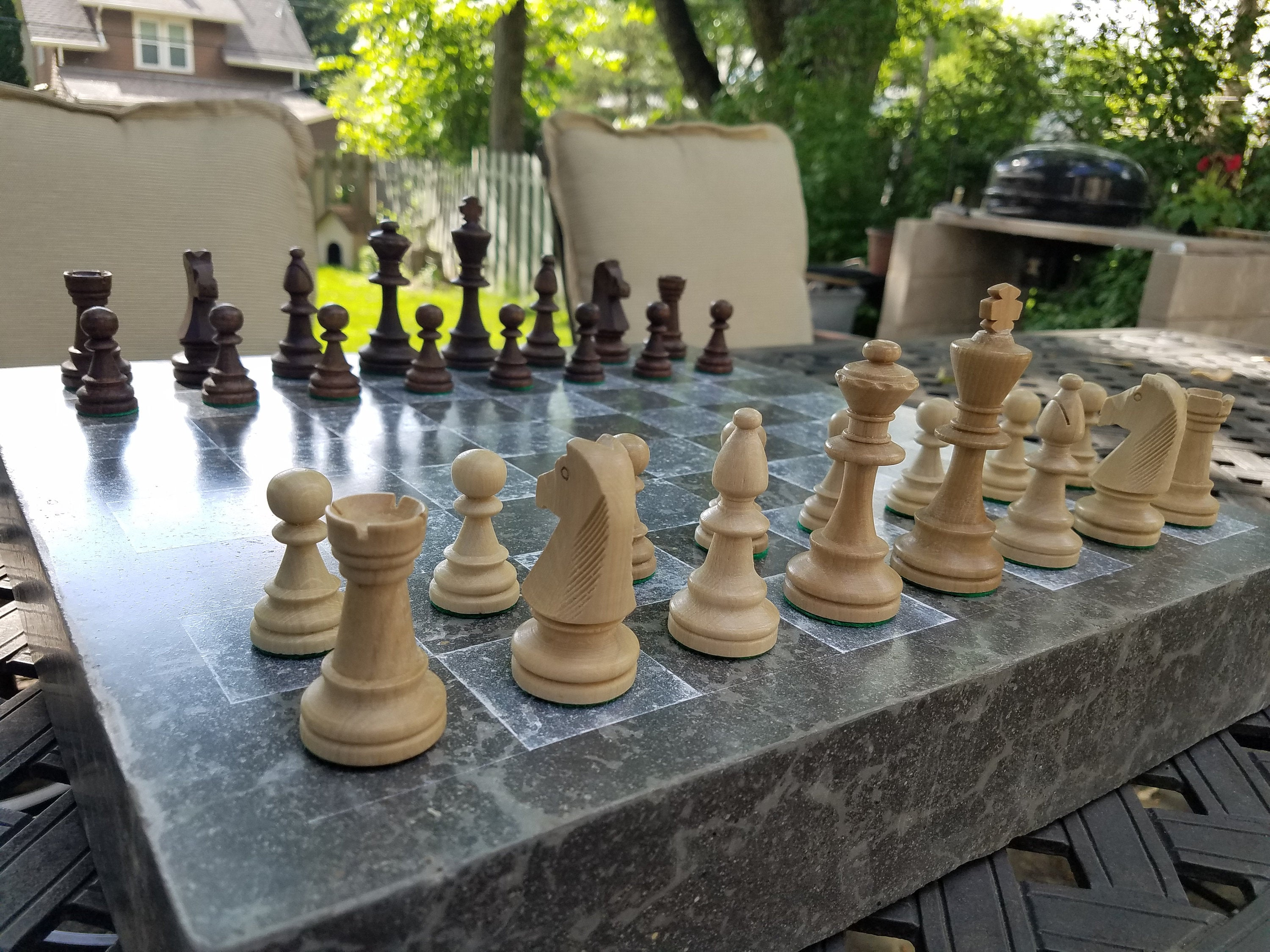 Concrete Chess Board