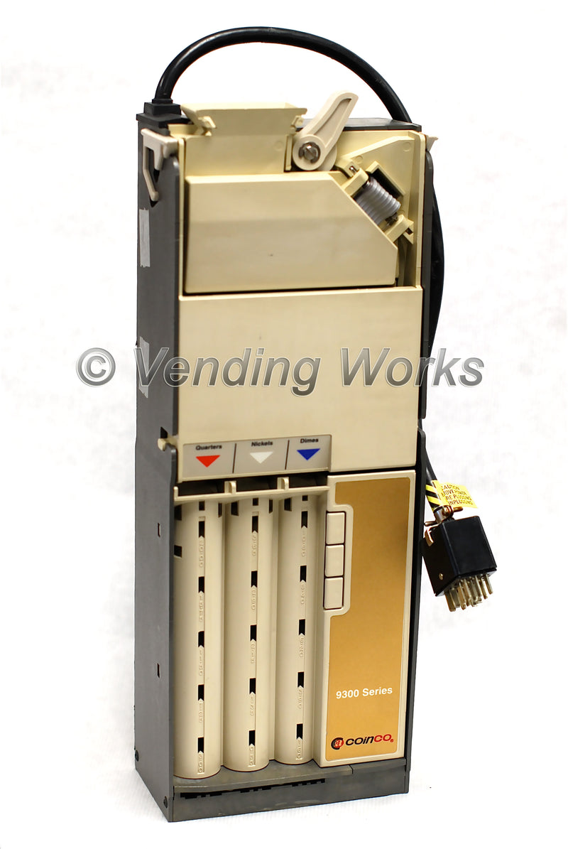 Coinco 9300L Logic Coin Changer Acceptor - Dummy Mech 12 pin