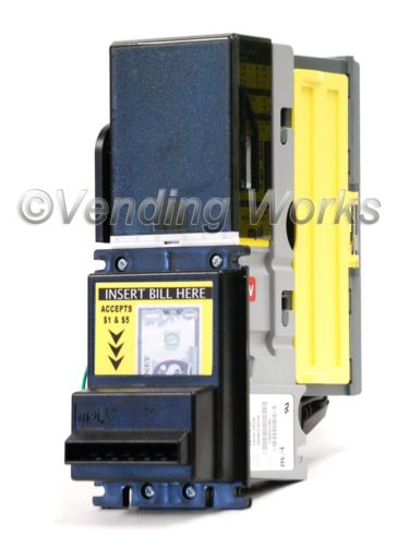 MEI Mars VN 2712 Bill Acceptor Validator Flash Port - New $1, $5, $10, $20 Bills