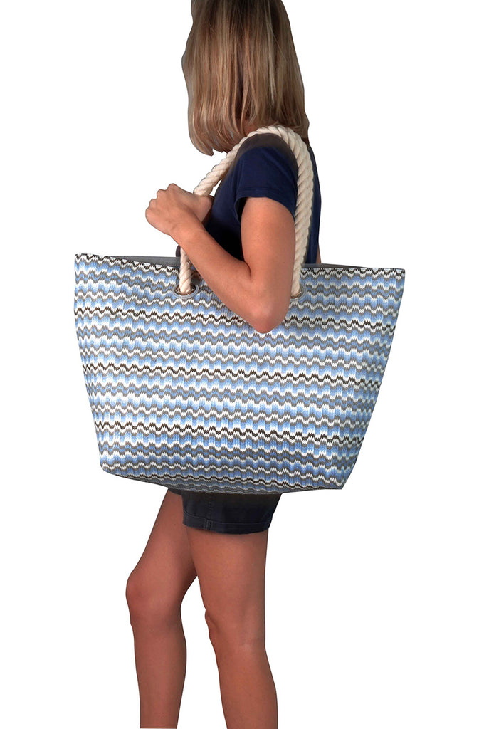 large nylon beach bag