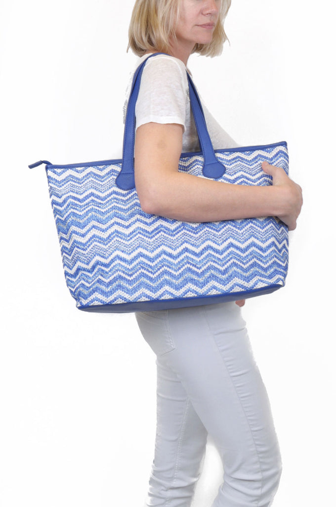 Tote bag Saint Tropez - blue
