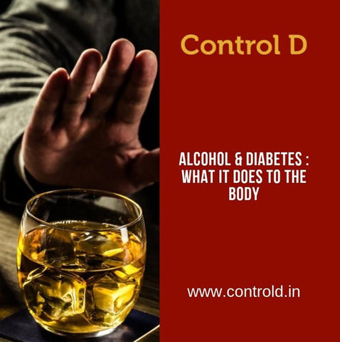 Alcohol & Diabetes – What it does to the body