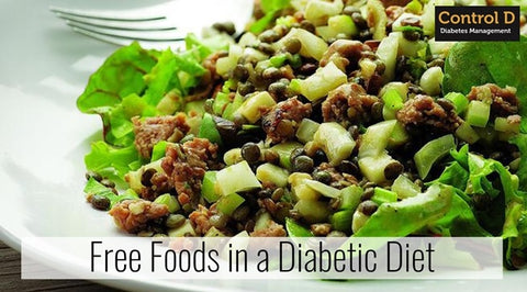 Free food in Diabetic Diet - Control D